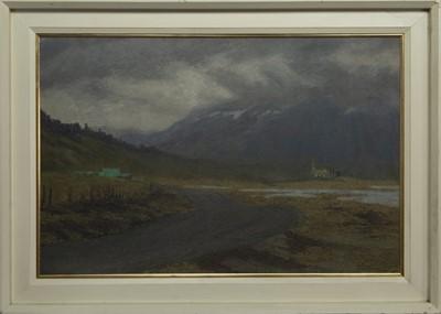 Lot 38 - THINGVELLIR, ICELAND, AN OIL BY ROBERT SAWYERS