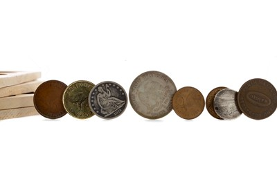 Lot 20 - A COLLECTION OF BRITISH AND OTHER COINS