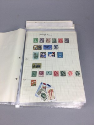 Lot 40 - A COLLECTION OF BRITISH AND WORLD STAMPS
