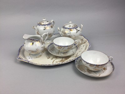 Lot 55 - A LOT OF ASIAN CERAMICS INCLUDING A TEA FOR TWO SERVICE