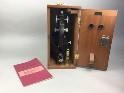 Lot 54 - A STUDENT'S BECK MICROSCOPE