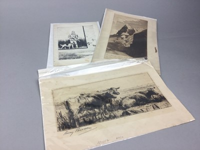 Lot 60 - A GROUP OF LATE 19TH/EARLY 20TH CENTURY PICTURES