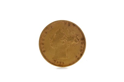 Lot 35 - A QUEEN VICTORIA HALF SOVEREIGN DATED 1876