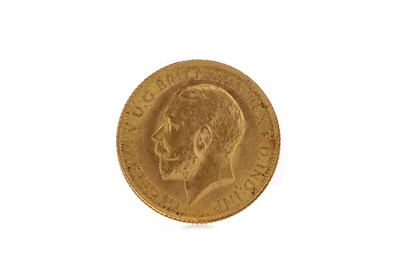 Lot 38 - A KING GEORGE V HALF SOVEREIGN DATED 1913
