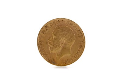 Lot 42 - A KING GEORGE V HALF SOVEREIGN DATED 1911