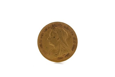 Lot 43 - A QUEEN VICTORIA HALF SOVEREIGN DATED 1897