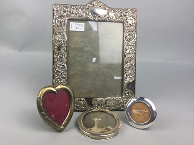 Lot 12 - A LOT OF FOUR SILVER PHOTOGRAPH FRAMES