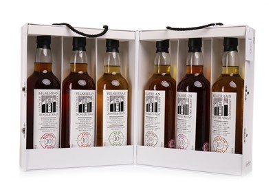 Lot 166 - KILKERRAN 2004 FIRST CASK SELECTION AGED 10 YEARS (6x70cl)