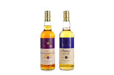 Lot 160 - THE MEMBERS SPEYSIDE AGED 14 YEARS AND SCOTTISH PARLIAMENT SPEYSIDE AGED 10 YEARS