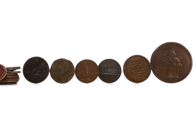 Lot 52 - A COLLECTION OF NAPOLEONIC AND OTHER MEDALLIONS