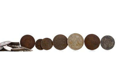 Lot 53 - A COLLECTION OF EIGHTEENTH CENTURY EUROPEAN COINS