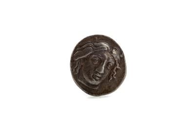 Lot 57 - ANCIENT GREECE RHODES TETRADRACHM, CIRCA 400 BC