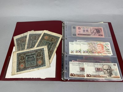 Lot 20 - A COLLECTION OF FOREIGN BANKNOTES