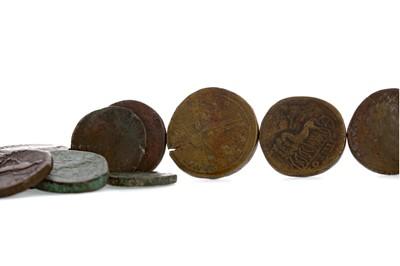 Lot 61 - FIFTEEN ANCIENT ROMAN BRONZE COINS
