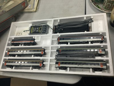 Lot 57 - A LOT OF TWO BOXED LIMA RAILWAY SETS