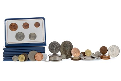 Lot 11 - A GROUP OF CHIEFLY GB COPPER AND SILVER COINAGE