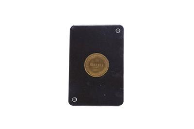 Lot 64 - A GOLD 10 MARKKAA COIN