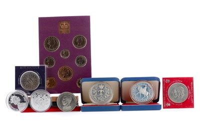 Lot 67 - A COLLECTION OF COIN SETS AND BOXED COINS