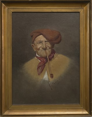 Lot 30 - A PAIR OF OILS BY ARTURO PETROCELLI