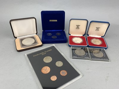 Lot 77 - A LOT OF SILVER AND OTHER GB COINS