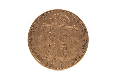 Lot 4 - A VICTORIA GOLD HALF SOVEREIGN DATED  1892