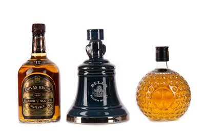 Lot 21 - BELL'S ROYAL RESERVE 20 YEARS OLD, CHIVAS REGAL 12 YEARS OLD AND OLD ST ANDREWS
