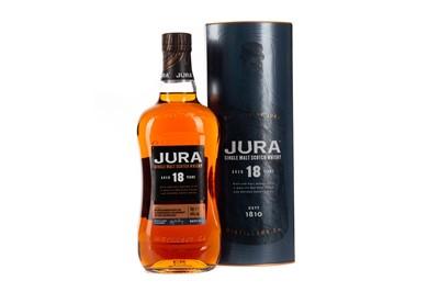 Lot 22 - JURA AGED 18 YEARS