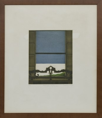 Lot 635 - FEBRUARY AFTERNOON,  A MEZZOTINT BY DOROTHEA WIGHT