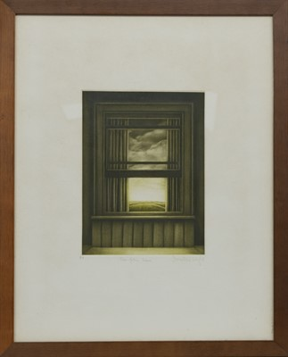 Lot 634 - FAR FROM HERE, A MEZZOTINT BY DOROTHEA WIGHT