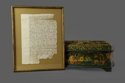 Lot 128 - A COLLECTION OF 17TH CENTURY AND LATER DOCUMENTS