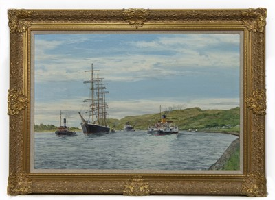 Lot 503 - THE PARMA, AN OIL BY JAMES CURRY BURNIE
