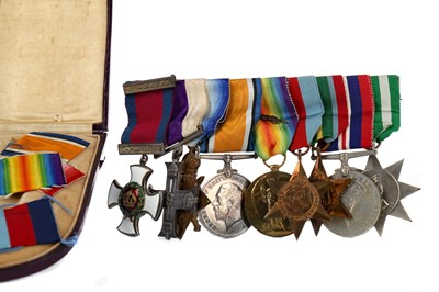 Lot 1703 - AN IMPORTANT MEDAL GROUP AWARDED TO CAPTAIN ROBERT BRUCE WALLACE