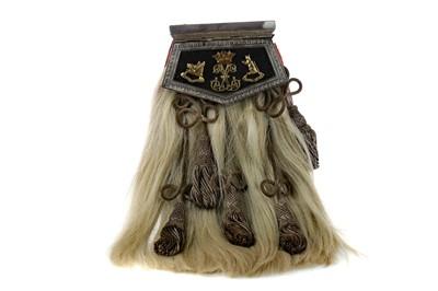 Lot 1706 - A SCARCE ARGYLL & SUTHERLAND HIGHLANDERS OFFICER'S FULL DRESS SPORRAN