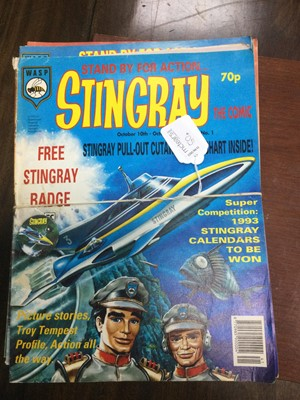 Lot 50A - A COLLECTION OF EIGHTEEN GERRY ANDERSON 'STINGRAY COMICS