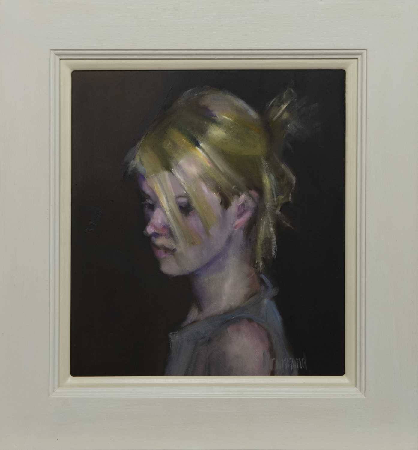 Lot 576 - CLAIRE, AN OIL BY MARION DRUMMOND