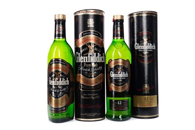 Lot 43 - GLENFIDDICH SPECIAL OLD RESERVE AND SPECIAL RESERVE AGED 12 YEARS