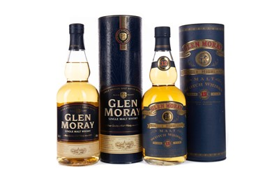 Lot 44 - GLEN MORAY 12 YEARS OLD AND NAS