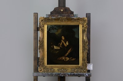 Lot 1060 - THE PENITANT MARY MAGDELENE, A DUTCH WORK AFTER THE OLD MASTER