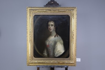 Lot 1065 - A PORTRAIT OF THE RT. HON. THE COUNTESS OF CARDIGAN
