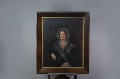 Lot 1068 - A VICTORIAN SCHOOL PORTRAIT OF A LADY