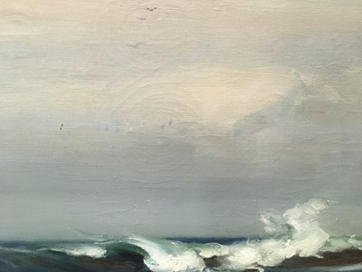 Lot 1069 - AN IMPRESSIVE OIL PAINTING OF COLONSAY, BY WILLIAM MARSHALL BROWN