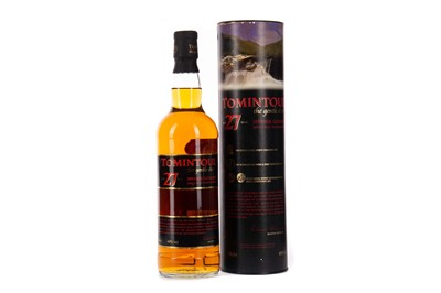 Lot 72 - TOMINTOUL AGED 27 YEARS
