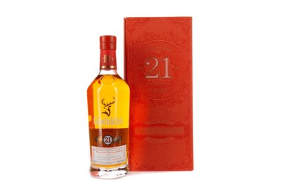 Lot 91 - GLENFIDDICH AGED 21 YEARS RUM CASK FINISH