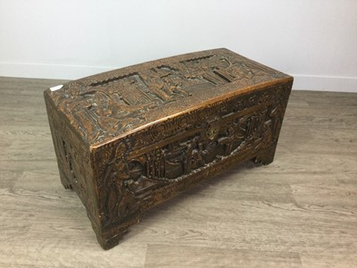 Lot 661 - A 20TH CENTURY CHINESE BLANKET CHEST