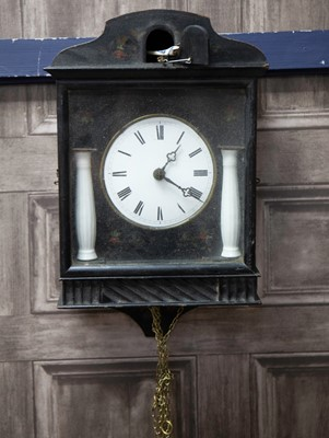Lot 1140 - A LATE 19TH CENTURY BLACK FOREST CUCKOO CLOCK