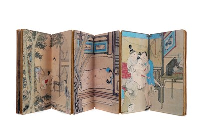 Lot 692 - A 20TH CENTURY CHINESE PRINT BOOK