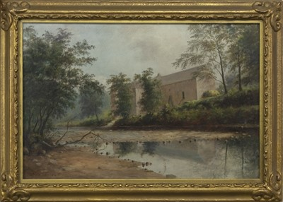 Lot 78 - AN UNTITLED OIL BY GEORGE SWEET
