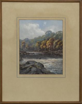 Lot 73 - GLENGARRY, A WATERCOLOUR BY H GORDON