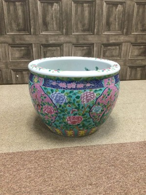Lot 652 - A 20TH CENTURY CHINESE FISH BOWL