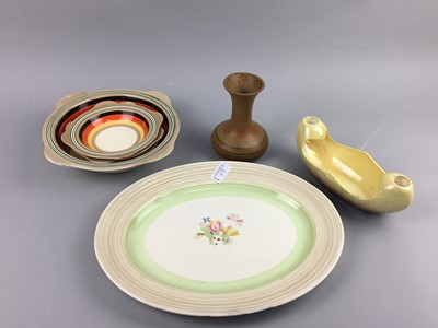 Lot 87 - A GROUP OF ART DECO AND RELATED CERAMICS